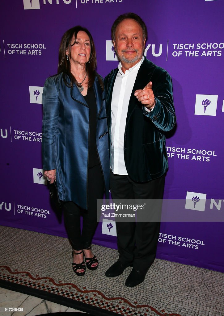 Janice Crystal and Billy Crystal attend the 2018 NYU Tisch Gala at Capitale on April 16, 2018 in New York City.