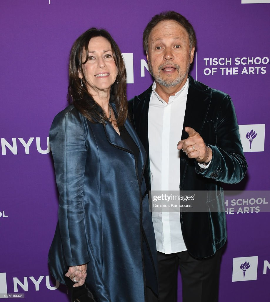 Janice Crystal and Billy Crystal attend The New York University Tisch School Of The Arts 2018 Gala at Capitale on April 16, 2018 in New York City.