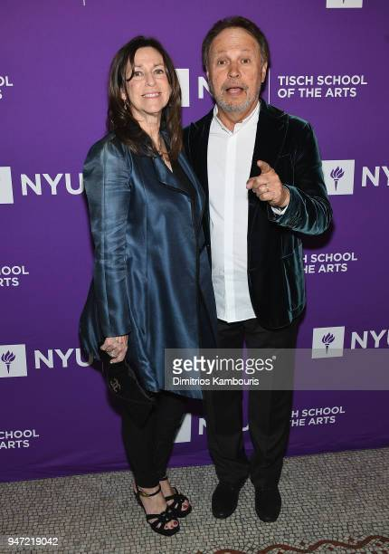 Janice Crystal and Billy Crystal attend The New York University Tisch School Of The Arts 2018 Gala at Capitale on April 16 2018 in New York City