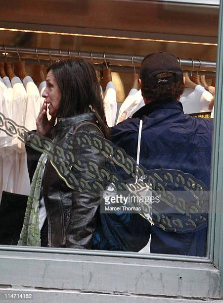 Janice Crystal and Billy Crystal during Billy Crystal and Janice Crystal Sighting in Soho May 18 2007 at Soho in New York City New York United States