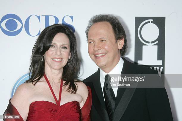 """Janice Crystal and Billy Crystal, nominees Best Special Theatrical Event for """"700 Sundays"""""""
