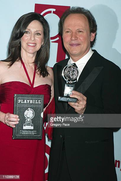 """Janice Crystal and Billy Crystal, winner Best Special Theatrical Event for """"700 Sundays"""""""