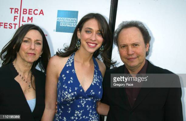 Janice Crystal Lindsay Crystal and Billy Crystal during 3rd Annual Tribeca Film Festival HBO Presents The Premiere of My Uncle Berns at UA Theater...