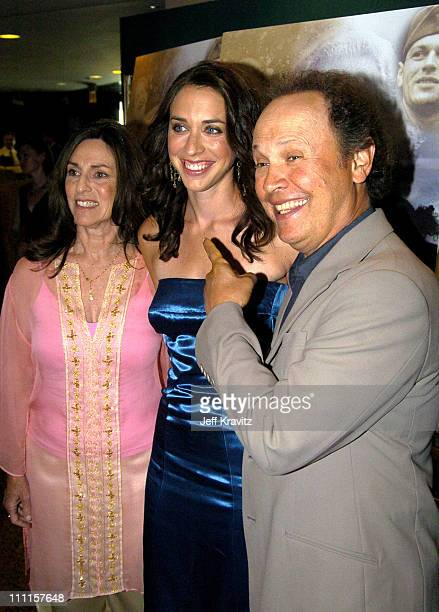 """Janice Crystal, Lindsay Crystal and Billy Crystal during HBO's Documentary """"My Uncle Berns"""" - Los Angeles Premiere at Museum of Tolerance in Los..."""