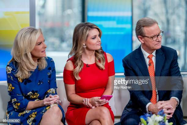Janice Dean Jillian Mele and Steve Doocy of Fox Friends discusses 'Maroln Bundo's a day in the life of The Vice President' with Charlotte and Karen...