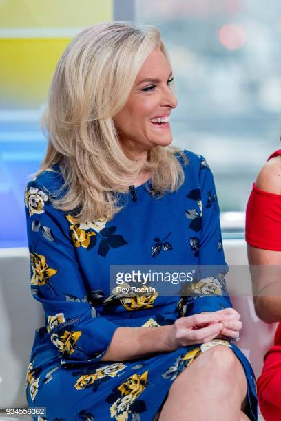 Janice Dean of Fox Friends to discusses 'Maroln Bundo's a day in the life of The Vice President' with Charlotte and Karen Pence at Fox News Studios...