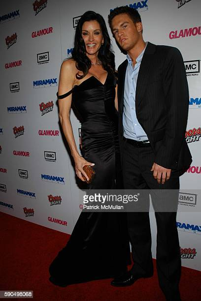 Janice Dickenson and Jamie Tweeden attend Miramax Films Golden Globes Awards AfterParty sponsored by Coors Light AMC and Glamour Magazine at Trader...