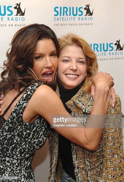Janice Dickinson and Candace Bushnell