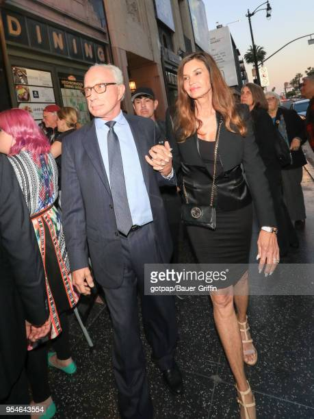 Janice Dickinson and Dr Robert Gerner are seen on May 03 2018 in Los Angeles California