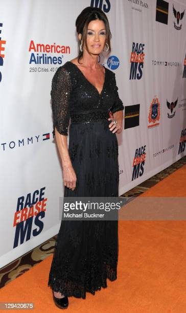 Janice Dickinson arrives at the 18th Annual Race To Erase MS at the Hyatt Regency Century Plaza on April 29, 2011 in Century City, California.