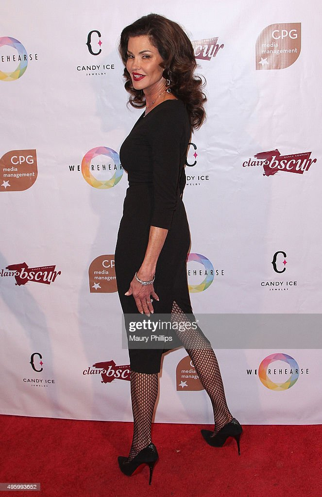 Janice Dickinson attends Danse Avec Clairobscur at Aventine Hollywood on November 5, 2015 in Hollywood, California.