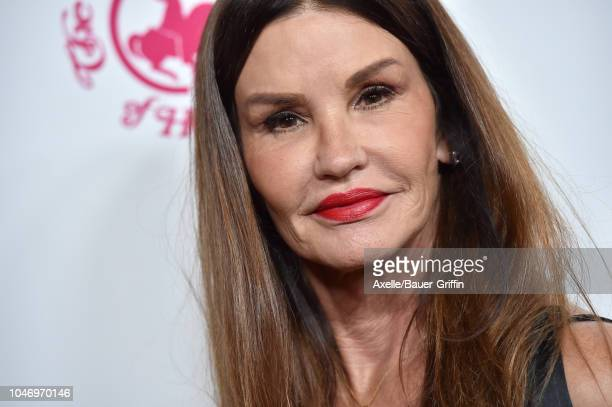 Janice Dickinson attends the 2018 Carousel of Hope Ball at The Beverly Hilton Hotel on October 6, 2018 in Beverly Hills, California.