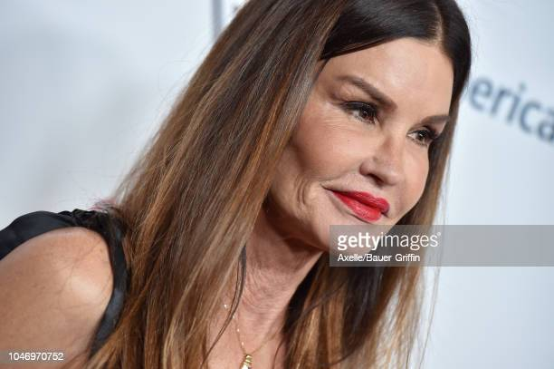 Janice Dickinson attends the 2018 Carousel of Hope Ball at The Beverly Hilton Hotel on October 6 2018 in Beverly Hills California