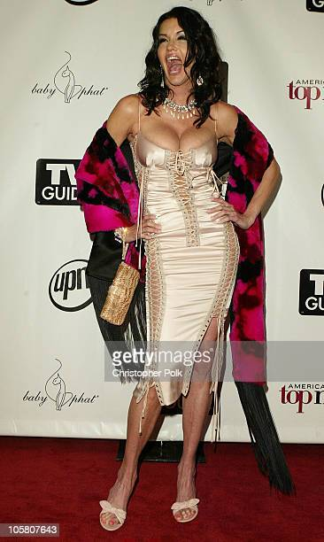Janice Dickinson during America's Next Top Model Season 2 Finale Party at Key Club in Hollywood California United States