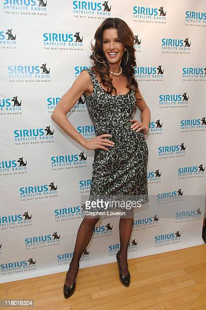 Janice Dickinson during Jamie Foxx to Launch The Foxxhole Exclusive Urban Comedy and Entertainment Channel on SIRIUS Satellite Radio at Sirius...