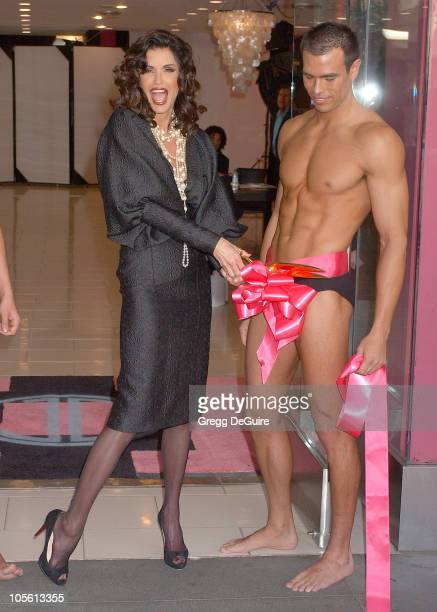 Janice Dickinson during Janice Dickinson Modeling Agency Opening April 19 2006 at The Janice Dickinson Modeling Agency in Hollywood California United...