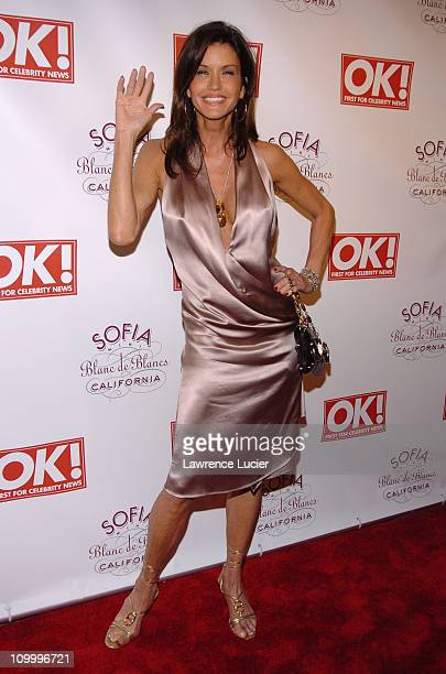 Janice Dickinson during Jessica Simpson and Diddy Host The Launch of OK Magazine at Hotel Gansevoort in New York City New York United States