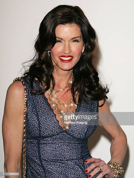 Janice Dickinson during MercedesBenz Fall 2006 LA Fashion Week at Smashbox Studios Elsie Katz Couture Front Row and Backstage at Smashbox Studios in...