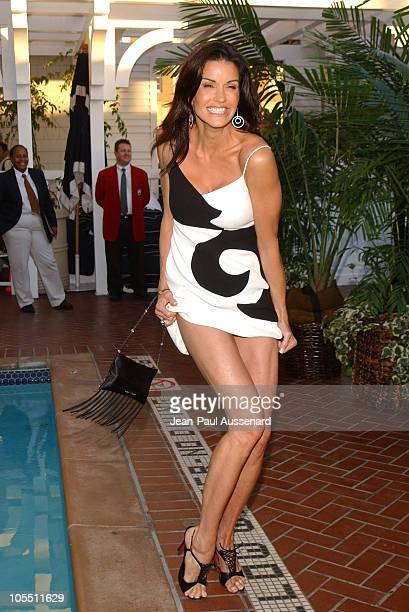 Janice Dickinson during UPN All Star Summer Party at Shutters in Santa Monica, California, United States.