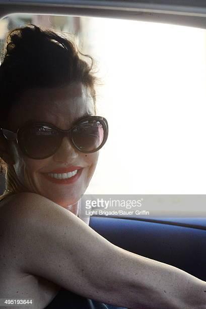 Janice Dickinson is seen in Los Angeles Ca on October 31 2015 in Los Angeles California
