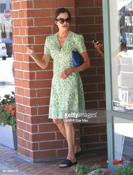 Janice Dickinson is seen on June 26 2017 in Los Angeles California
