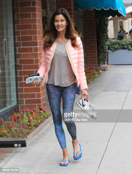 Janice Dickinson is seen on October 31 2017 in Los Angeles CA