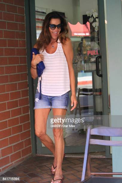 Janice Dickinson is seen on September 1 2017 in Los Angeles California