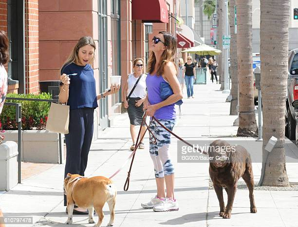 Janice Dickinson is seen on September 27 2016 in Los Angeles California