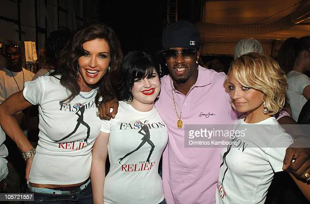 Janice Dickinson Kelly Osbourne Sean Diddy Combs and Nicole Richie