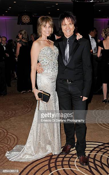 Janice Gowan and Lawrence Gowan attend The Scarborough World Gala Lifetime Achievement Award Ceremony at Sheraton Centre Toronto Hotel on May 10 2014...