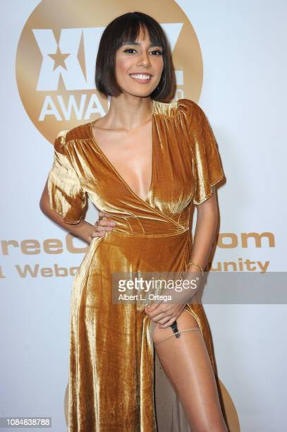 Janice Griffith arrives for the 2019 XBiz Awards held at The Westin Bonaventure Hotel Suites on January 17 2019 in Los Angeles California