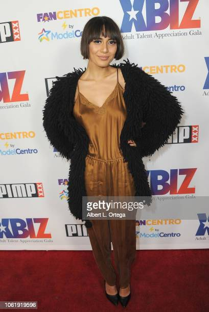 Janice Griffith arrives for XBIZ Rise Adult Talent Appreciation Gala held at Exchange LA on November 14 2018 in Los Angeles California