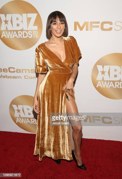 Janice Griffith attends the 2019 XBIZ Awards on January 17 2019 in Los Angeles California