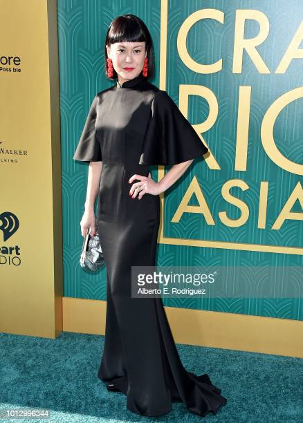 """Janice Koh attends the premiere of Warner Bros. Pictures' """"Crazy Rich Asiaans"""" at TCL Chinese Theatre IMAX on August 7, 2018 in Hollywood, California."""
