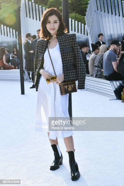 Janice Man attends the Louis Vuitton Resort 2018 show at the Miho Museum on May 14 2017 in Koka Japan