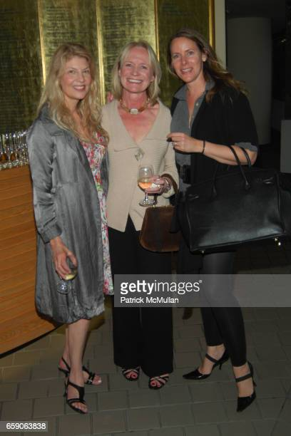 Janice Mekaelian Erica Hanson and Sandra Nelson attend VALENTINO THE LAST EMPEROR West Coast Premiere at LACMA at LACMA on April 1 2009 in Los...