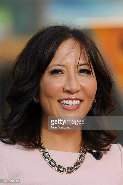 Janice Min visits Extra at The Grove on September 24 2012 in Los Angeles California