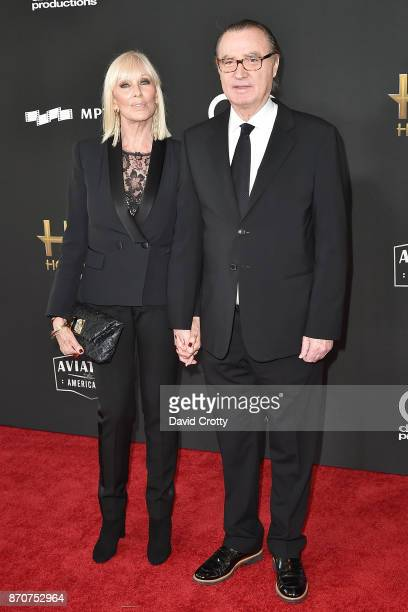 Janice Pennington and Carlos de Abreu attend the 21st Annual Hollywood Film Awards Arrivals on November 5 2017 in Beverly Hills California