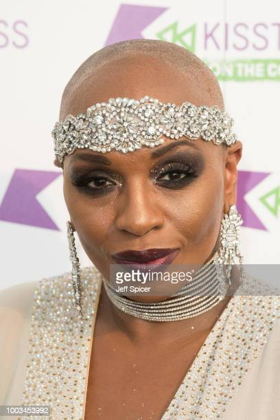 Janice Robinson from Livin Joy during Kisstory On The Common 2018 at Streatham Common on July 21 2018 in London England