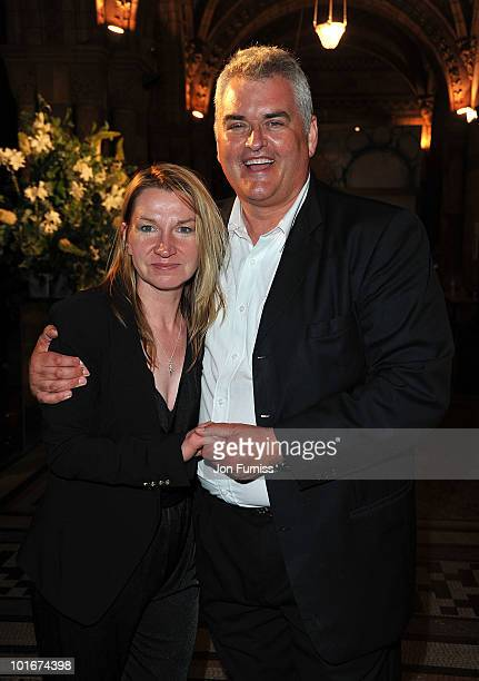 Janice Sutherland and Dave Hogan attend the Philips British Academy Television Awards after party at the Natural History Museum on June 6 2010 in...