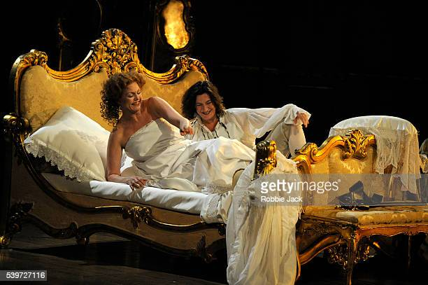 Janice Watson and Sarah Connolly in the English National Opera's production of Richard Strauss's Der Rosenkavalier at the London Coliseum