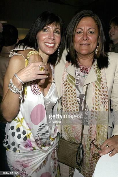 Janice Winter and Fern Mallis during MercedesBenz Fall 2004 Fashion Week at Smashbox Studios Judith Ripka In Touch Weekly Party at Smash Box Studios...