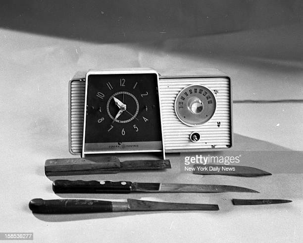 Janice Wylie and Emily Hoffert The murder weapons and clock radio taken from slain girls' room