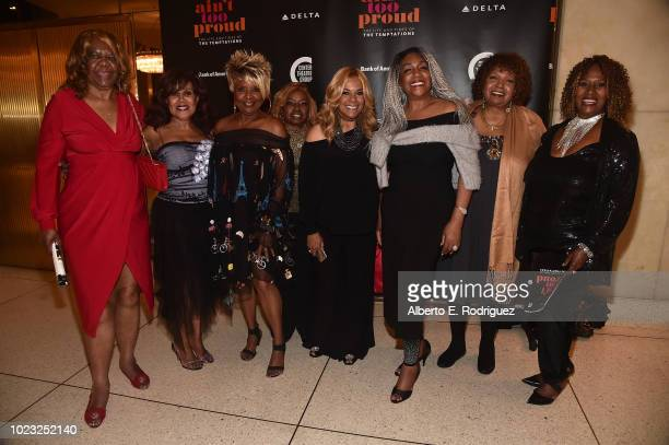 Janie Bradford Dee Dee Kenniebrew Thelma Houston Barbara Anne Hawkins Claudette Rogers Robinson Mary Wilson Rosa Lee Hawkins and Brenda Holloway...
