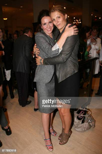 Janie Bryant and Anne Vincent attend The launch of True Prep at Brooks Brothers on September 14 2010 in New York