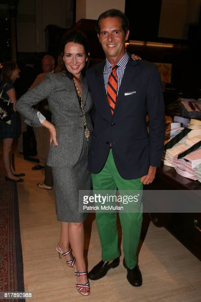 Janie Bryant and Arthur Wayne attend The launch of 'True Prep' at Brooks Brothers on September 14 2010 in New York
