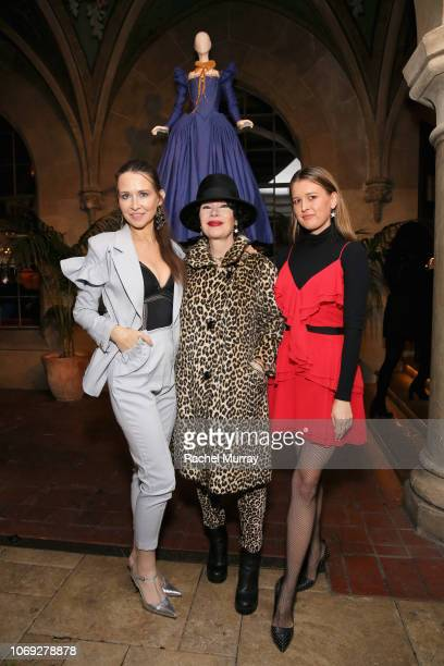 Janie Bryant and guests celebrate the new film Mary Queen of Scots with Vanity Fair and Focus Features at Chateau Marmont on December 6 2018 in Los...