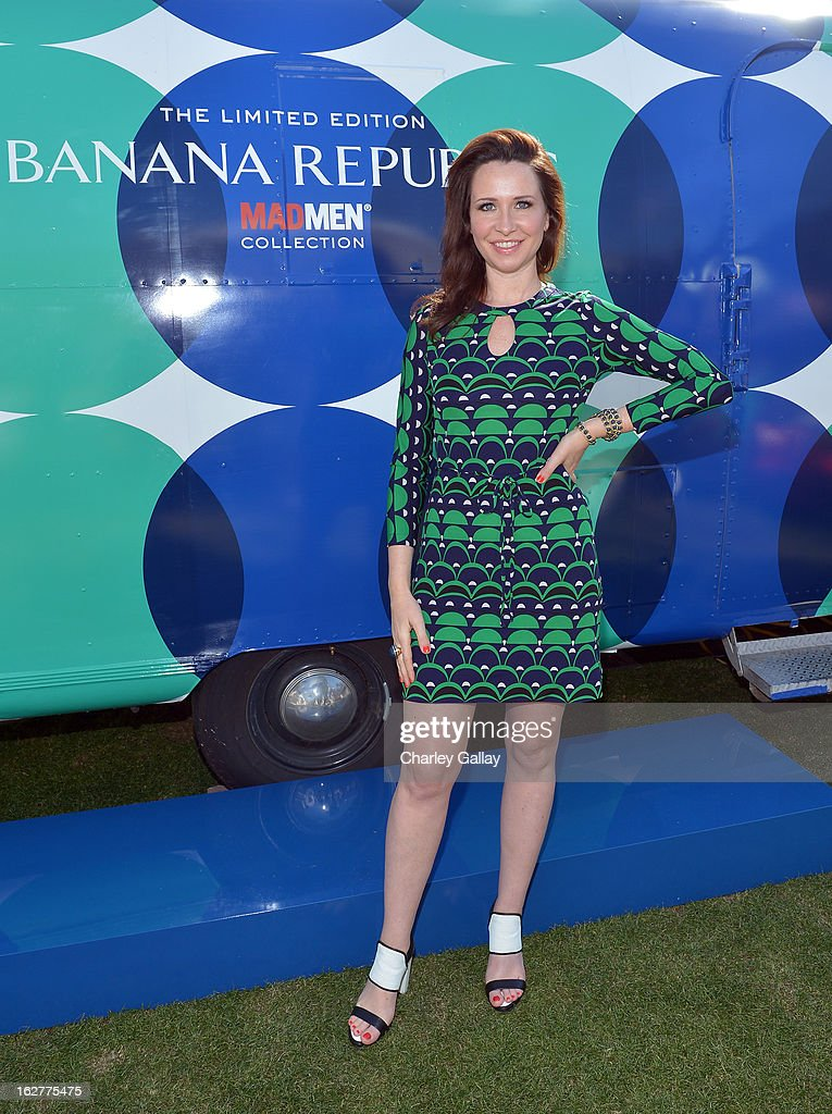 Janie Bryant at the Banana Republic Mod Pod on February 26, 2013 in Los Angeles, California.
