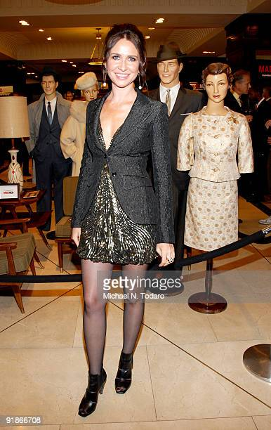 Janie Bryant celebrates Janie Bryant the costume designer for 'Mad Men' at Brooks Brothers on October 13 2009 in New York City
