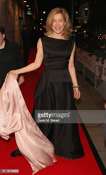Janie Dee attends the 16th Annual WhatsOnStage Awards at The Prince of Wales Theatre on February 21 2016 in London England
